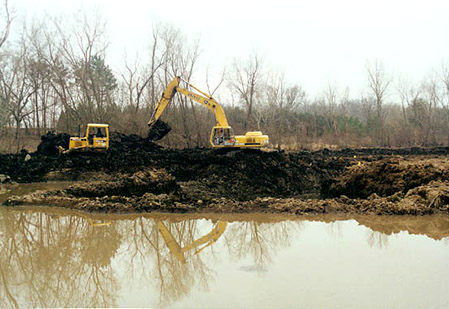 Dredging Lost Lake