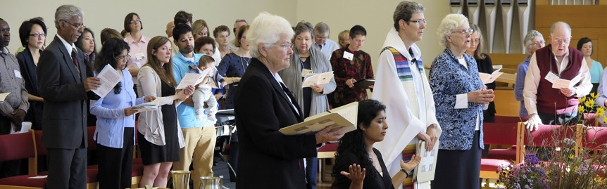Becoming a sister - Sisters Joanne, Rosy, Mary David and Lynne and larger community at Rosy's first monastic profession